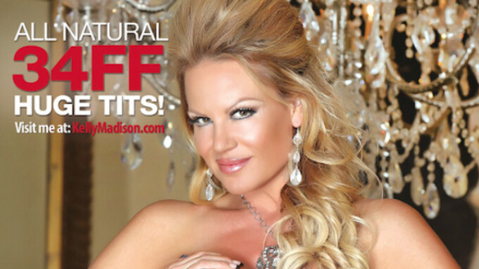 'Kelly Madison's World Famous Tits: Volume 15' Ships Nov. 18