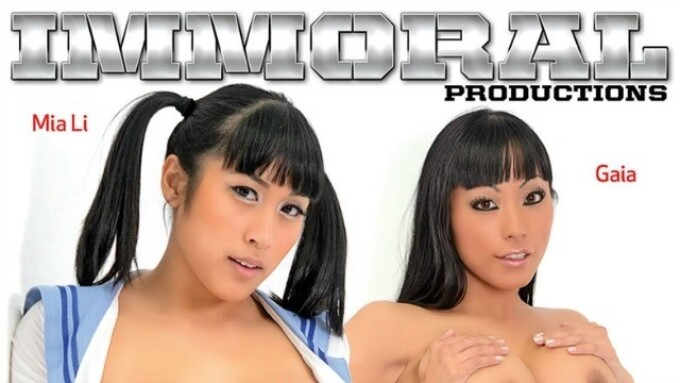 Pure Play Releases Immoral's 'Torrid Threesomes Two'