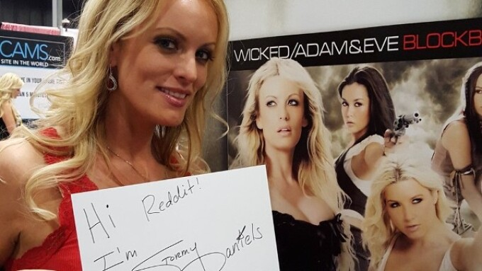Stormy Daniels to Do Reddit AMA