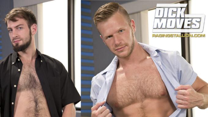 Falcon Studios' Bravo Delta Debuts in Raging Stallion's 'Dick Moves'