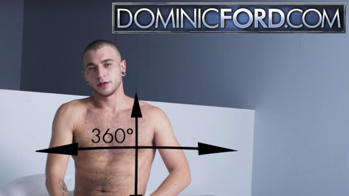 Dominic Ford Premieres 360-degree Gay Porn VR Scene