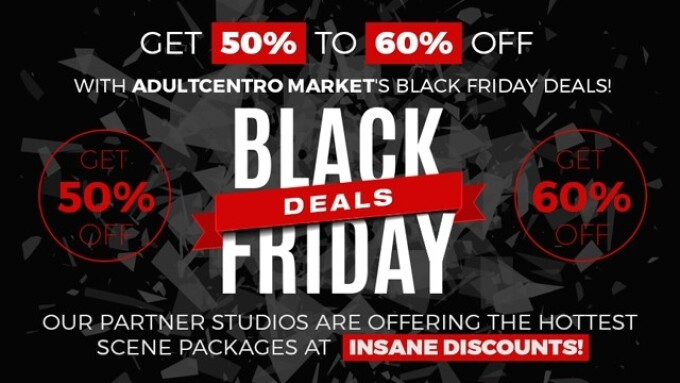 AdultCentro Market Announces 'Black Friday' Content Sale