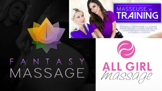 All Girl Massage Debuts 'Masseuse in Training' With Dillion Harper