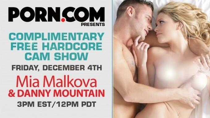 Mia Malkova Streams Free Show on Porn.com
