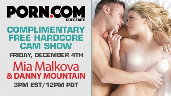 Mia Malkova Streams Free Show on Porn.com