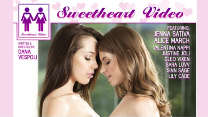 Mile High Media Debuts 'Girls Kissing Girls 18'