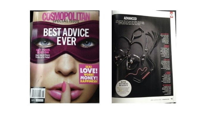 Sportsheets Featured in Cosmopolitan