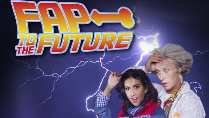 WoodRocket Releases 'Fap to the Future' Porn Parody