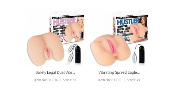Hustler Toys Adds New Masturbators