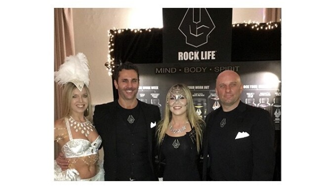 Rock On Debuts 'Rock Life' Line at L.A. Charity Event