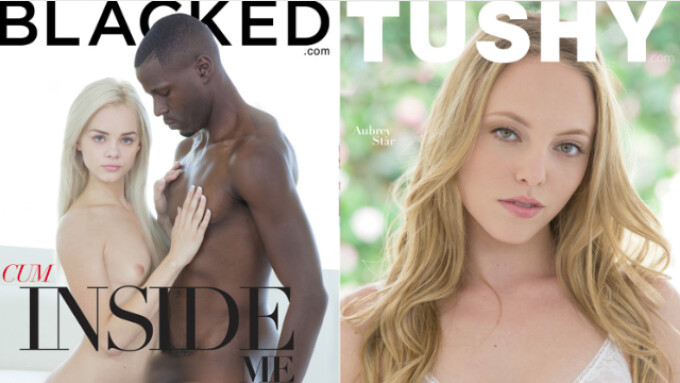 Blacked, Tushy Offer 'Anal Beauty 2' and 'Cum Inside Me 2'