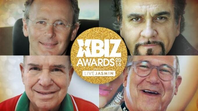 XBIZ Announces 2016 Industry Pioneer Award Honorees