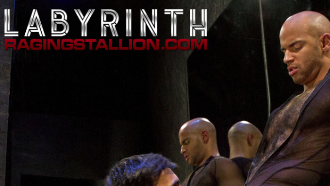 Raging Stallion Debuts 1st Scene From 'Labyrinth'