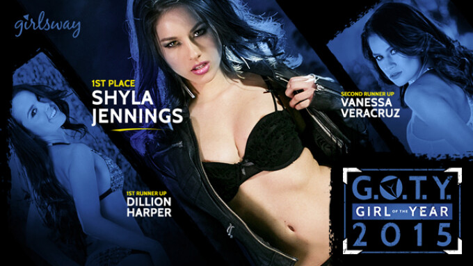 Shyla Jennings Named Girlsway Girl of the Year