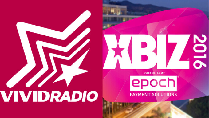 Vivid Radio Airing XBIZ Awards Week Coverage