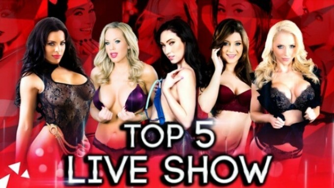 Digital Playground's 'DP Star' Top 5 Show Streams Today