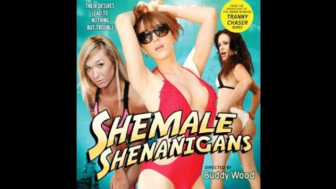 Grooby Debuts 'Shemale Shenanigans,' Distributed by Exquisite