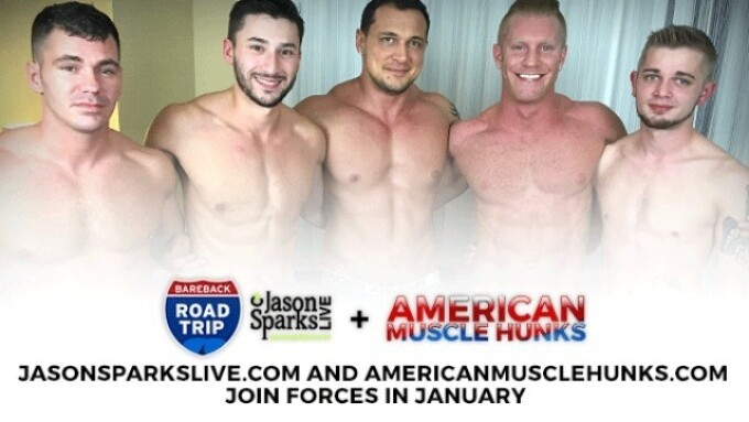 GunzBlazing: JasonSparksLive, AmericanMuscleHunks Join Forces