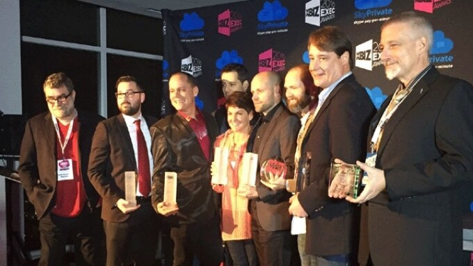 XBIZ Announces 2016 Online Industry Exec Award Winners
