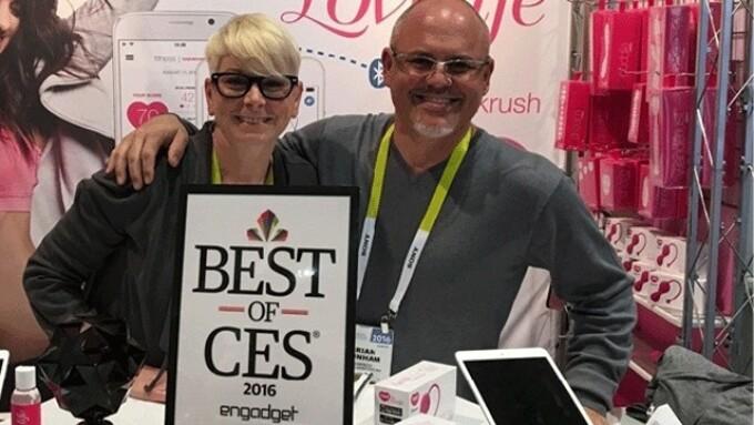 OhMiBod Honored for Lovelife Krush at Best of CES Awards