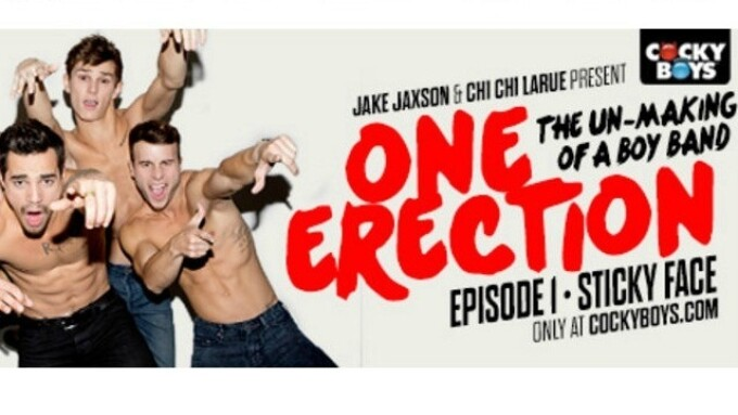 CockyBoys Debuts 1st 'One Erection' Episode