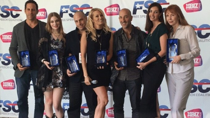 FSC Awards Recipients Honored at XBIZ Show