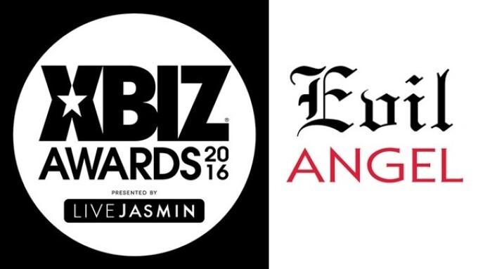 Evil Angel Wins 2016 XBIZ Award for 'Studio of the Year'