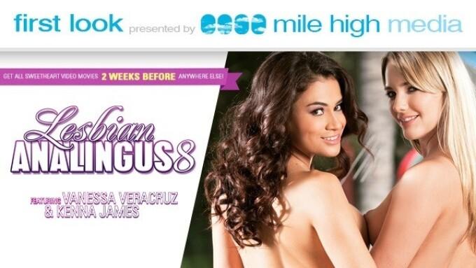 'Lesbian Analingus Vol. 8' Gets 1st Look on MileHighMedia.com