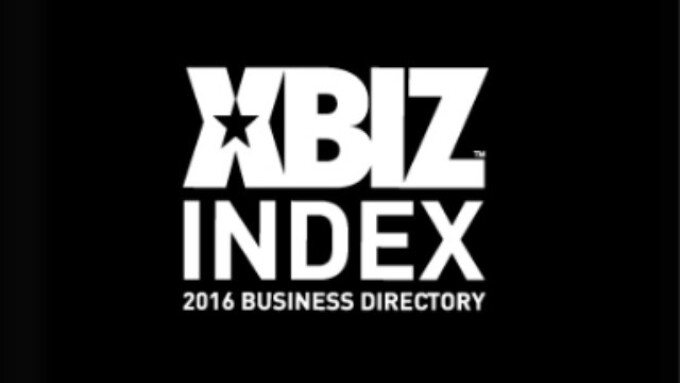 2016 XBIZ Index 'Black Book' Now Available in Digital Format