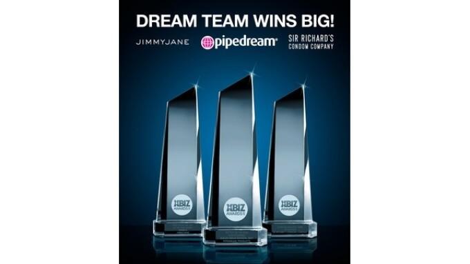 Diamond Products Wins 3 XBIZ Awards