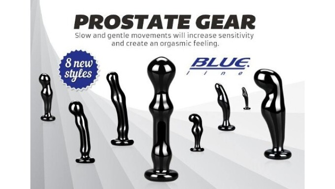Blue Line Collection Adds Prostate Massagers