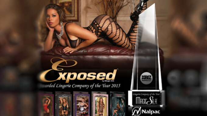 Nalpac Expands Collection of Exposed Lingerie by Magic Silk