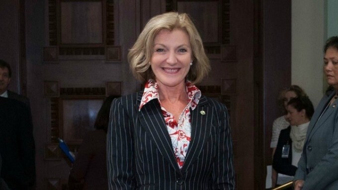 Video: Fiona Patten Visits With Calif. Lawmakers