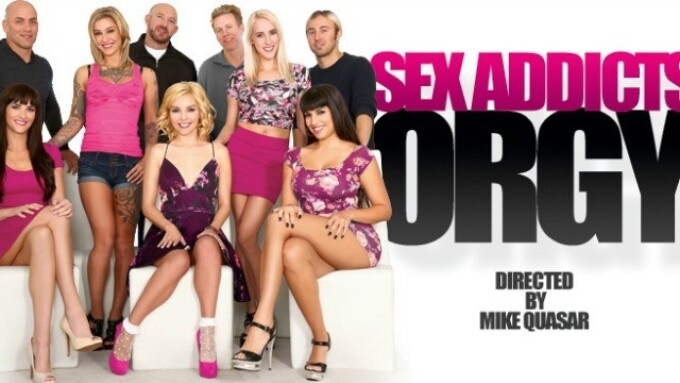 Third Degree Films Releases 'Sex Addicts Orgy'