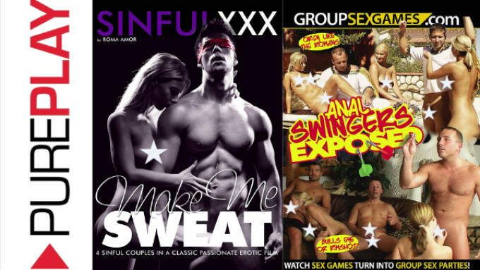 SinfulXXX, GroupSexGames Join Pure Play Roster