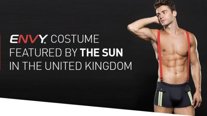 Envy Menswear Appears in U.K.'s The Sun