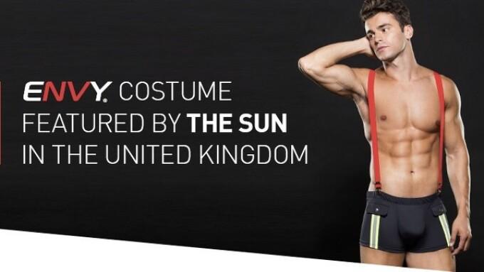 Envy Menswear Appears in U.K.'s The Sun