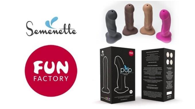 Fun Factory, Berman Innovations Introduce 'POP by The Semenette'