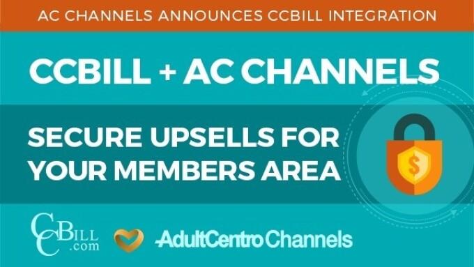 AdultCentro Channels Announces CCBill Integration