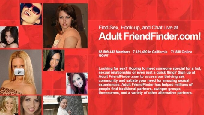 AdultFriendFinder Wins XBIZ Dating Site of the Year Award