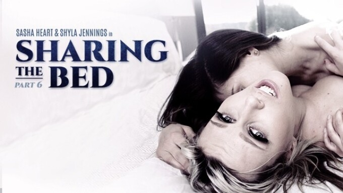 Girlsway Releases 'Sharing The Bed: Part 6'