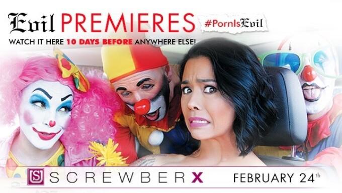 Evil Angel Premieres 'ScrewberX'