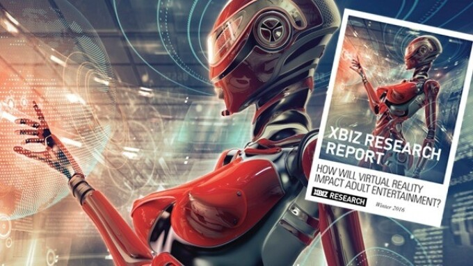 XBIZ Releases Adult Virtual Reality Report for Media