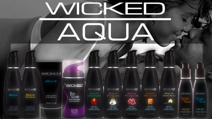 Nalpac Introduces New Additions to Wicked Sensual Care's AQUA Line