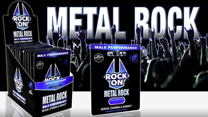 Rock On Launches 'Metal Rock' Pills for Men