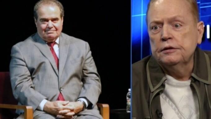 Video: Flynt Says Scalia Damaged the U.S. Supreme Court