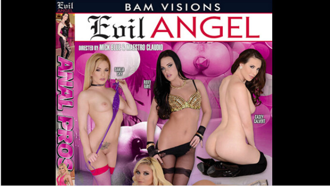 Evil Angel, BAM Visions Debut 'Anal Pros'