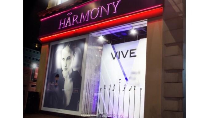 Shots' VIVE Line Gets Harmony Storefront Display