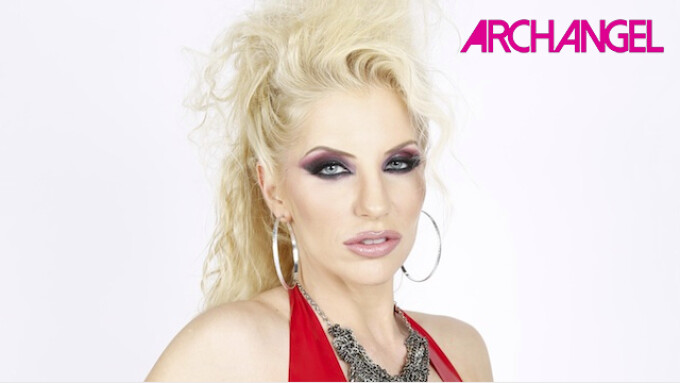 ArchAngel Premieres Ashley Fires' 1st IR Scene