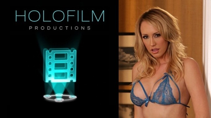 Brett Rossi Makes Comeback in VR Scene for HoloFilm